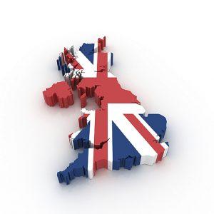 UK 3D Map
