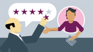customer rating